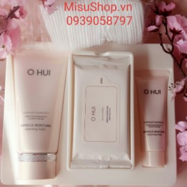 Sữa rửa mặt Ohui dưỡng ẩm miracle moisture cleansing Foam